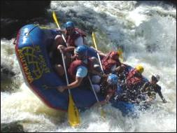 View of Rafting.